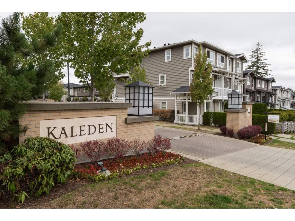 "Main Photo: 23 2729 158 Street in Surrey: Grandview Surrey Townhouse for sale in ""Kaleden"" (South Surrey White Rock)  : MLS®# R2143695"
