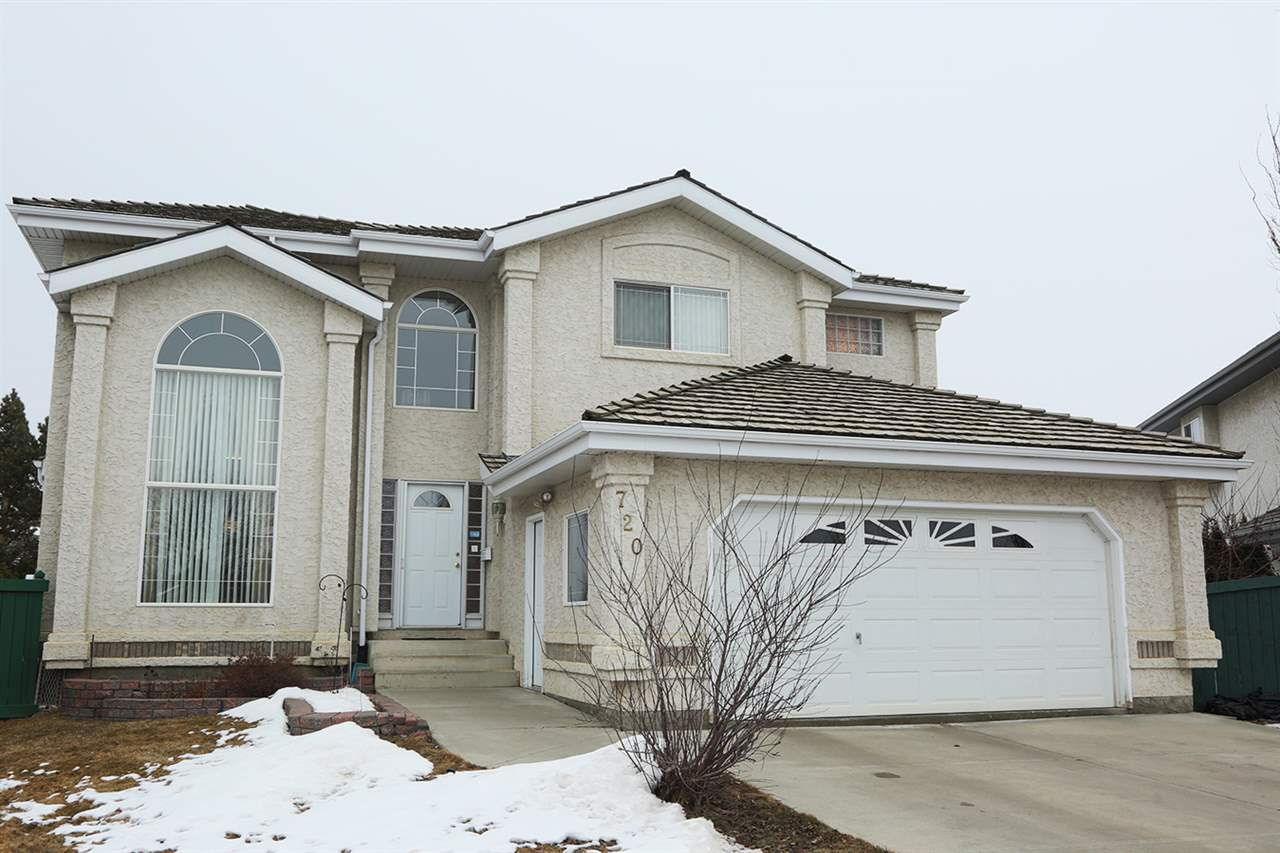 Main Photo: 720 BLACKWOOD Crescent in Edmonton: Zone 55 House for sale : MLS® # E4056638