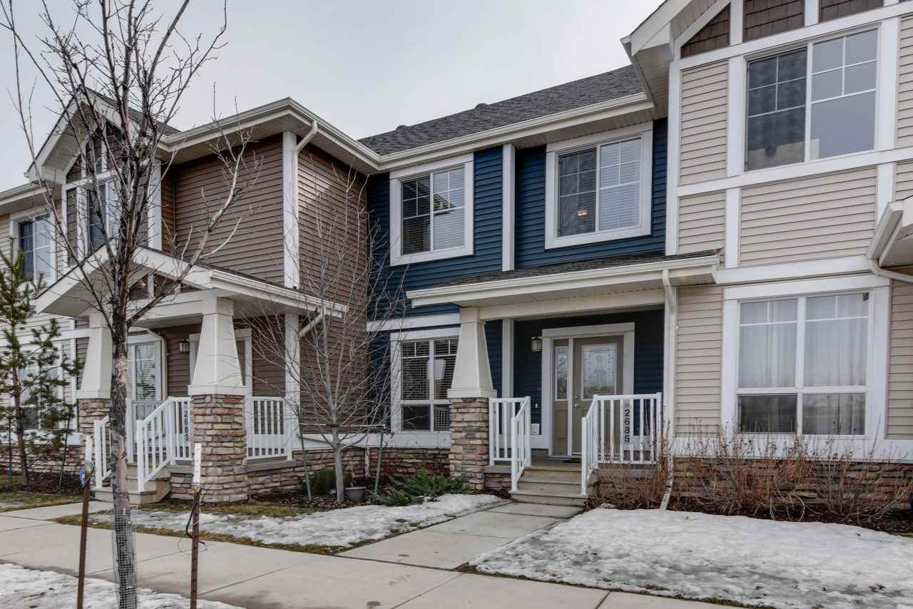 Photo 2: 2685 Sir Arthur Currie Way in Edmonton: Zone 27 Townhouse for sale : MLS® # E4056944