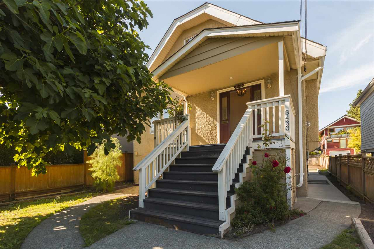 Main Photo: 3435 W 8TH Avenue in Vancouver: Kitsilano House for sale (Vancouver West)  : MLS® # R2206597