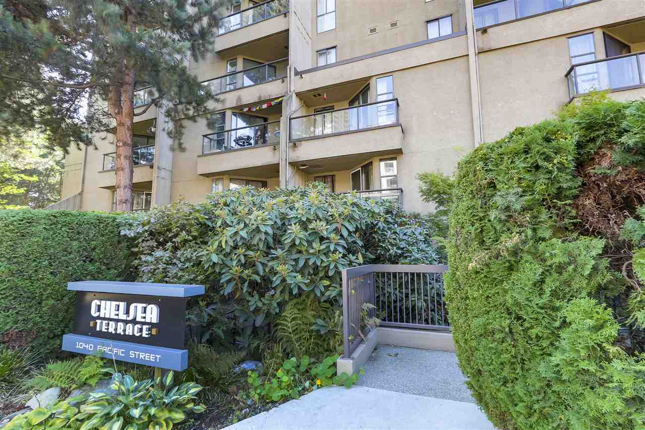 "Main Photo: 521 1040 PACIFIC Street in Vancouver: West End VW Condo for sale in ""Chelsea Terrace"" (Vancouver West)  : MLS®# R2302170"