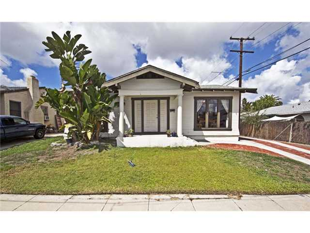 Main Photo: NORMAL HEIGHTS House for sale : 3 bedrooms : 3222 Copley Avenue in San Diego