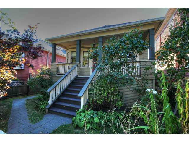 "Main Photo: 1015 ODLUM Drive in Vancouver: Grandview VE House for sale in ""COMMERCIAL DRIVE"" (Vancouver East)  : MLS(r) # V1085008"