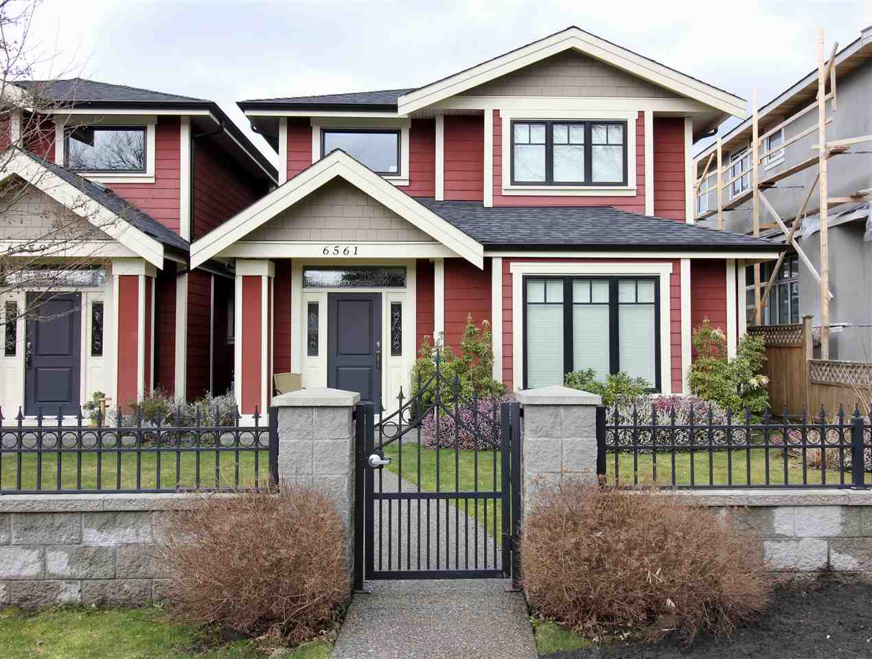 Main Photo: 6561 CARNEGIE Street in Burnaby: Sperling-Duthie House 1/2 Duplex for sale (Burnaby North)  : MLS®# R2149411