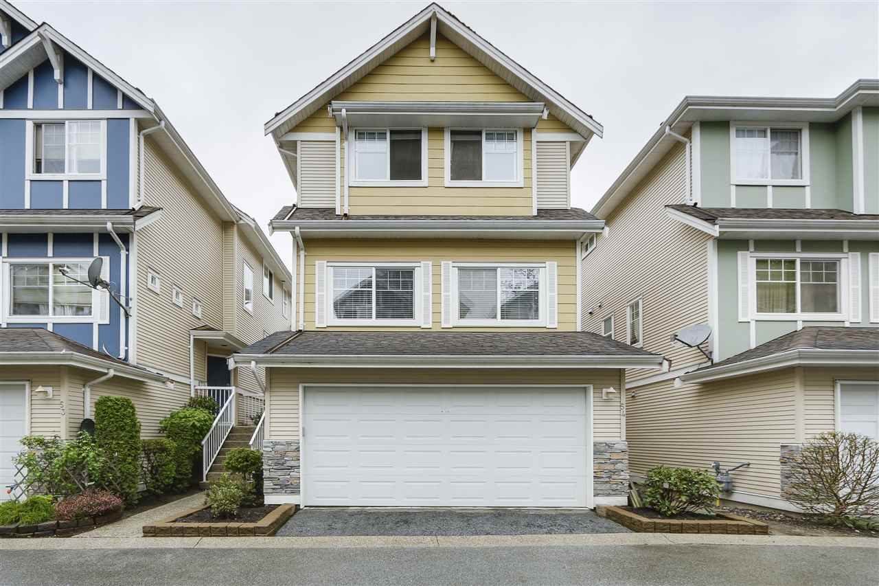 "Main Photo: 54 1108 RIVERSIDE Close in Port Coquitlam: Riverwood Townhouse for sale in ""HERITAGE MEADOWS"" : MLS(r) # R2164557"