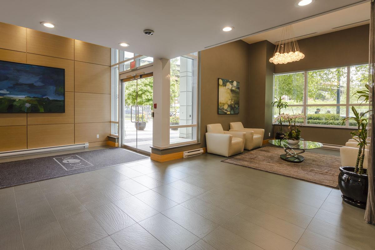 Icon One Lobby at 638 Beach Crescent