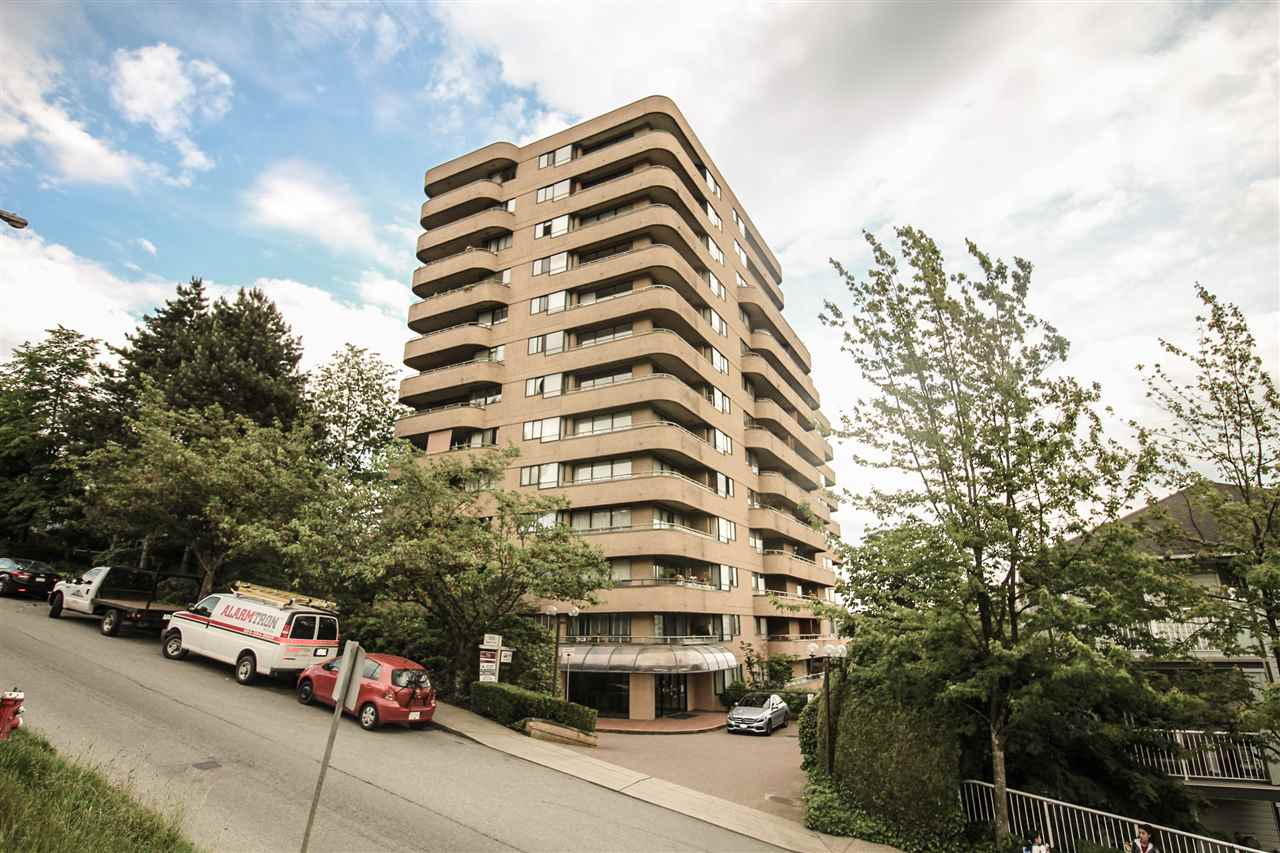 Main Photo: 604 1026 QUEENS Avenue in New Westminster: Uptown NW Condo for sale : MLS(r) # R2177624