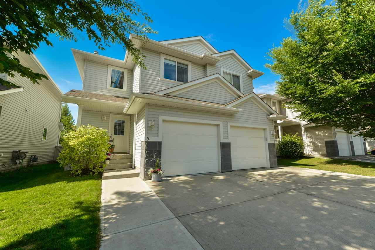 Main Photo: 5 4350 23 Street in Edmonton: Zone 30 House Half Duplex for sale : MLS(r) # E4070966