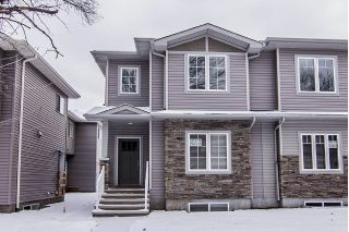 Main Photo: 12137 103 Street in Edmonton: Zone 08 House Half Duplex for sale : MLS® # E4071848