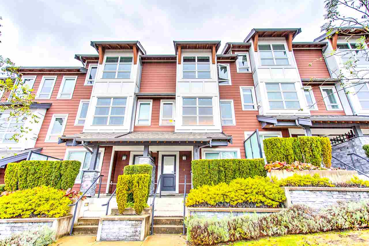 "Main Photo: 6 1349 HAMES Crescent in Coquitlam: Burke Mountain Townhouse for sale in ""NORTHBROOK WEST"" : MLS®# R2221763"