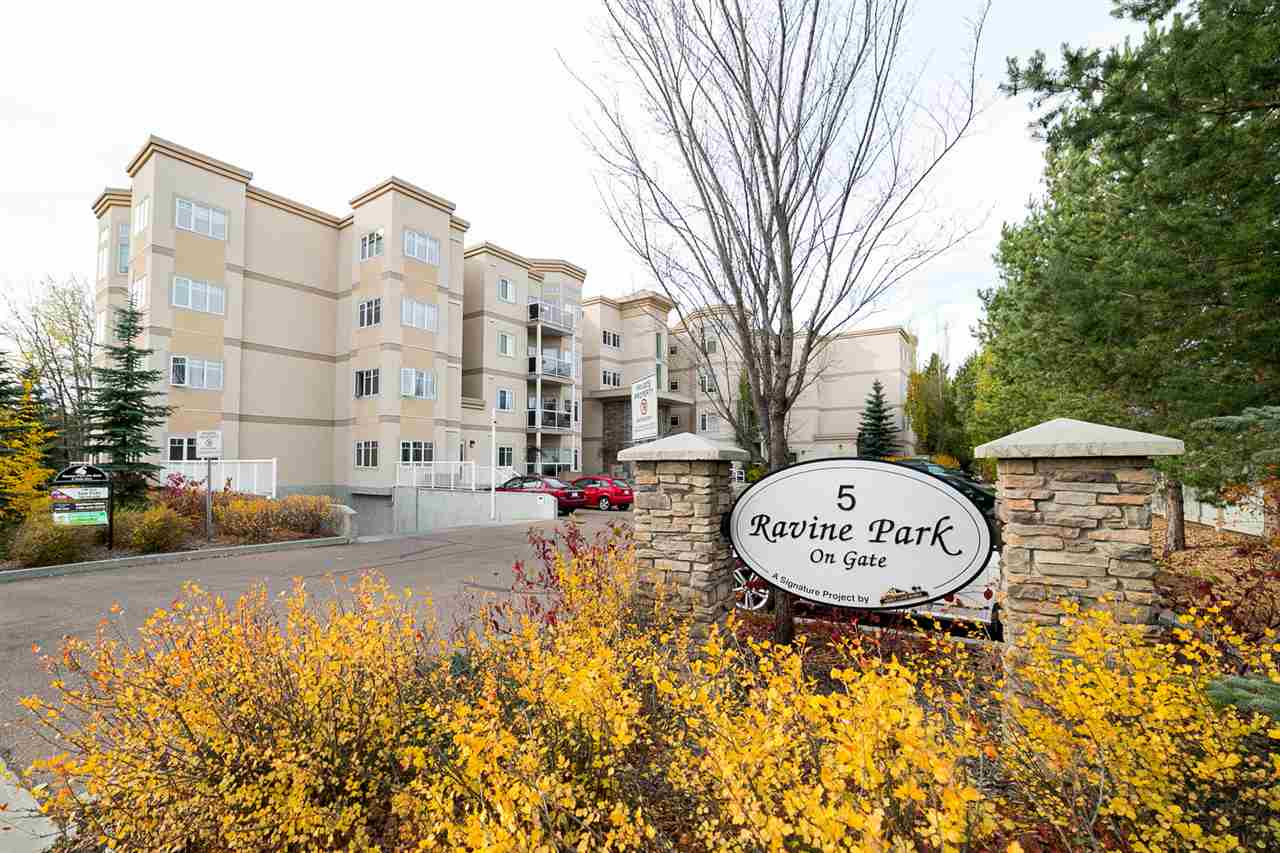 Main Photo: 403 5 GATE Avenue: St. Albert Condo for sale : MLS®# E4100510