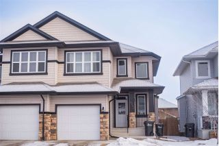 Main Photo: 6062 Sunbrook Landing: Sherwood Park House Half Duplex for sale : MLS® # E4101066