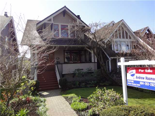 Main Photo: 2006 WHYTE Avenue in Vancouver: Kitsilano House for sale (Vancouver West)  : MLS® # V876519