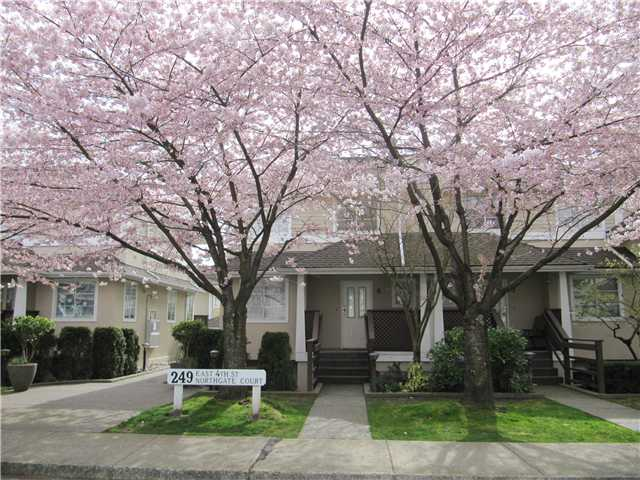 Main Photo: 9 249 E 4TH Street in North Vancouver: Lower Lonsdale Condo for sale : MLS® # V947028