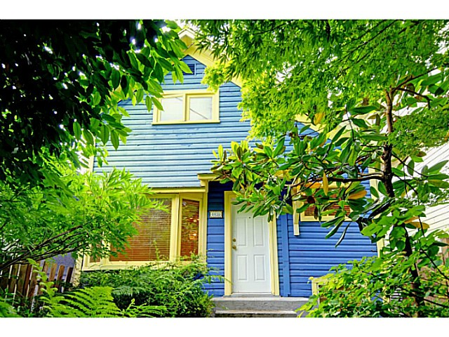 Main Photo: 1138 LILY Street in Vancouver: Grandview VE House for sale (Vancouver East)  : MLS® # V1069408