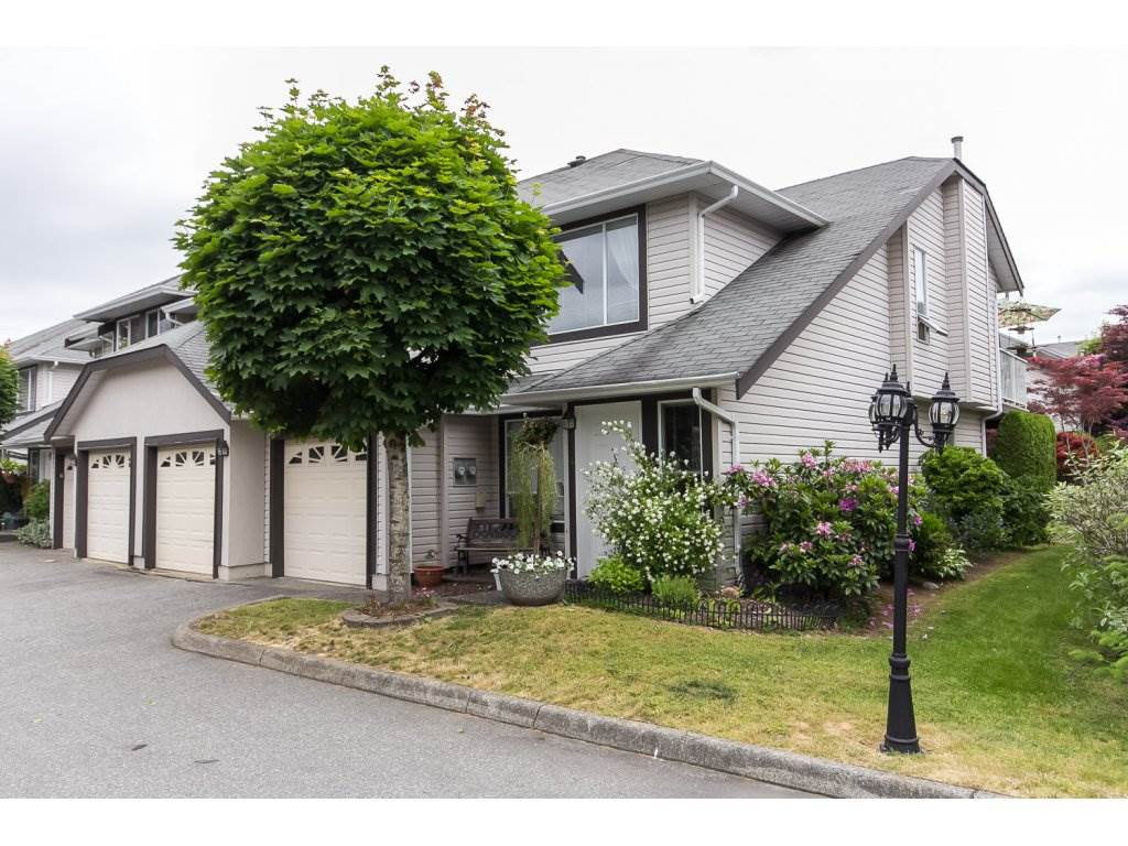 "Main Photo: 134 3160 TOWNLINE Road in Abbotsford: Abbotsford West Townhouse for sale in ""Southpointe Ridge"" : MLS® # R2071931"