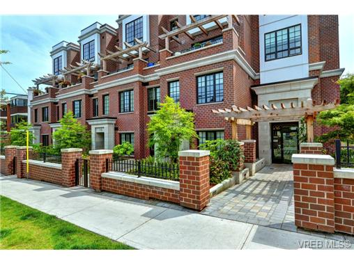 Main Photo: 104 1011 Burdett Avenue in VICTORIA: Vi Downtown Condo Apartment for sale (Victoria)  : MLS® # 366302