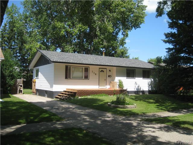 Main Photo: 116 Kraim Avenue in Dauphin: Northwest Residential for sale (R30 - Dauphin and Area)  : MLS® # 1702556