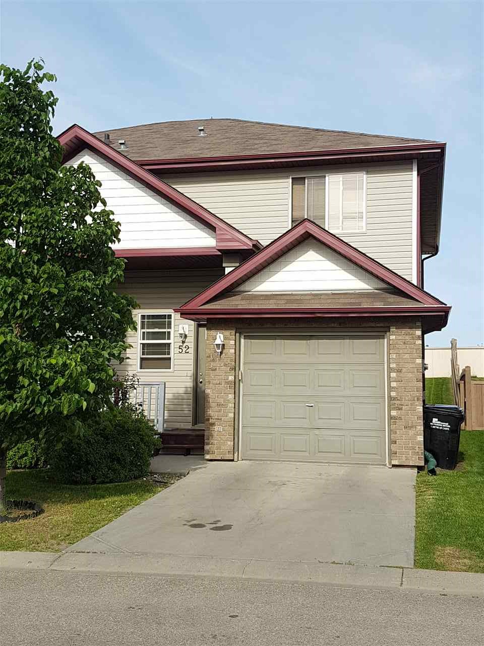 Main Photo: 52 700 Bothwell Drive: Sherwood Park House Half Duplex for sale : MLS(r) # E4068098