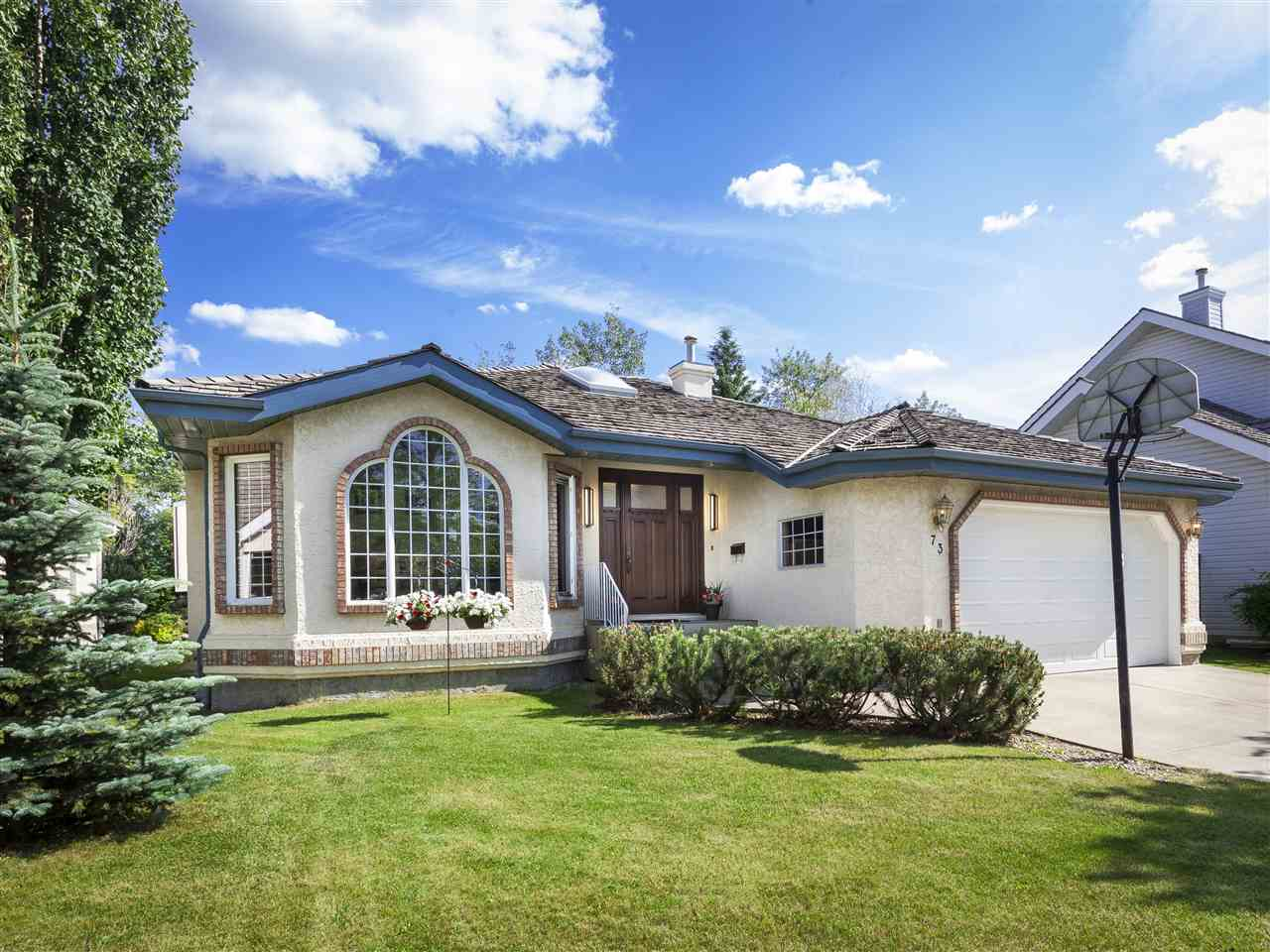 Main Photo: 73 BLACKBURN Drive W in Edmonton: Zone 55 House for sale : MLS® # E4071704