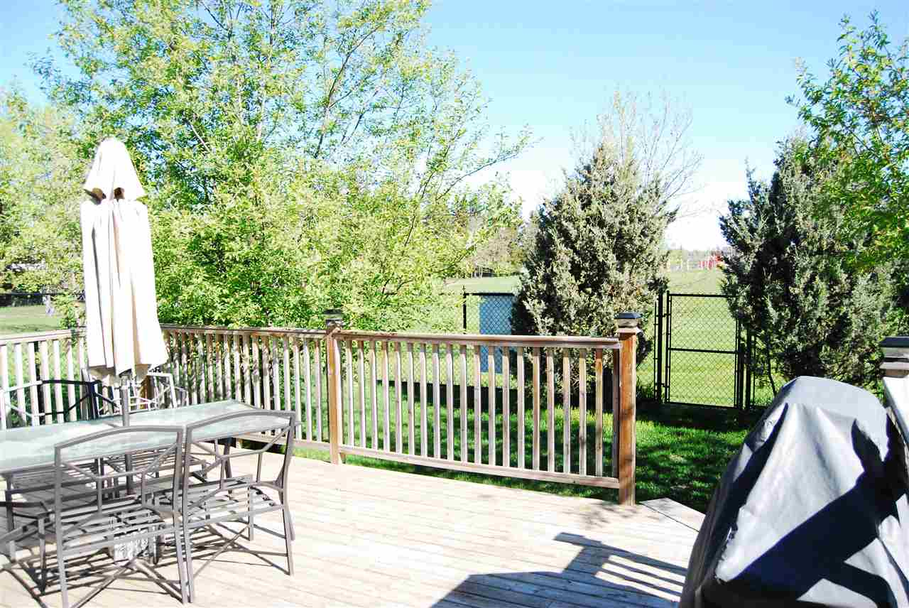 Enjoy summer BBQs on your huge back deck overlooking the park