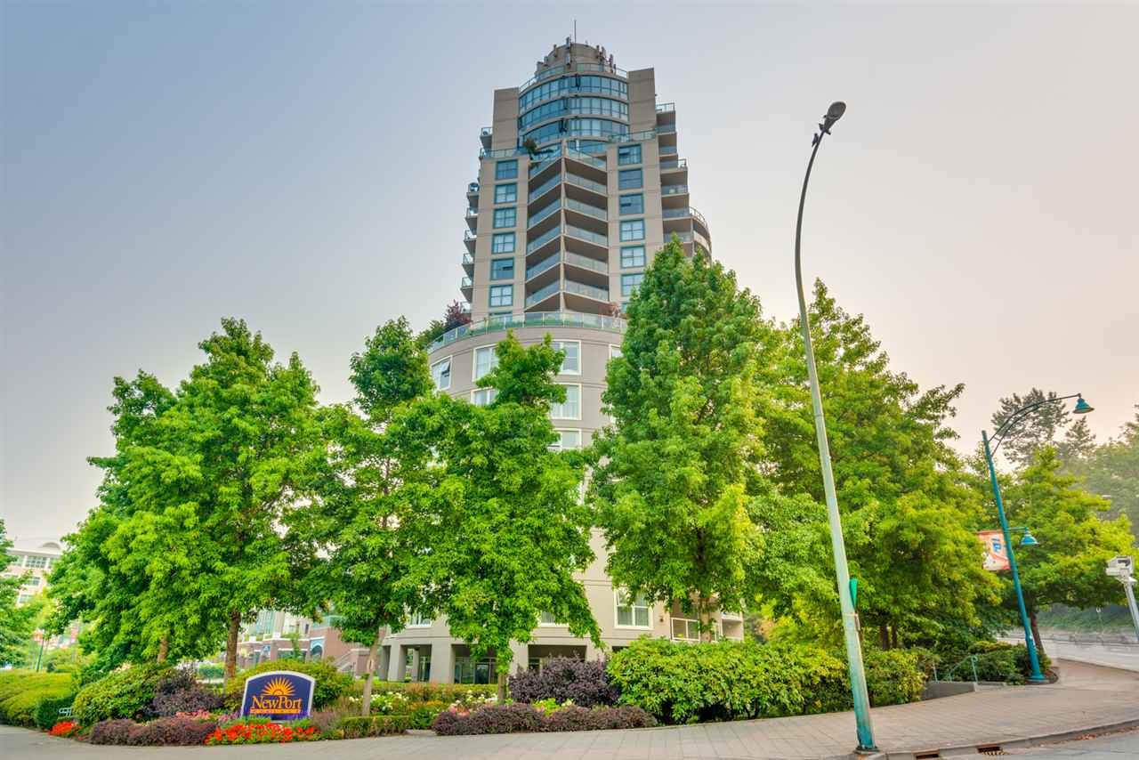 "Main Photo: 1202 200 NEWPORT Drive in Port Moody: North Shore Pt Moody Condo for sale in ""Elgin"" : MLS® # R2195136"