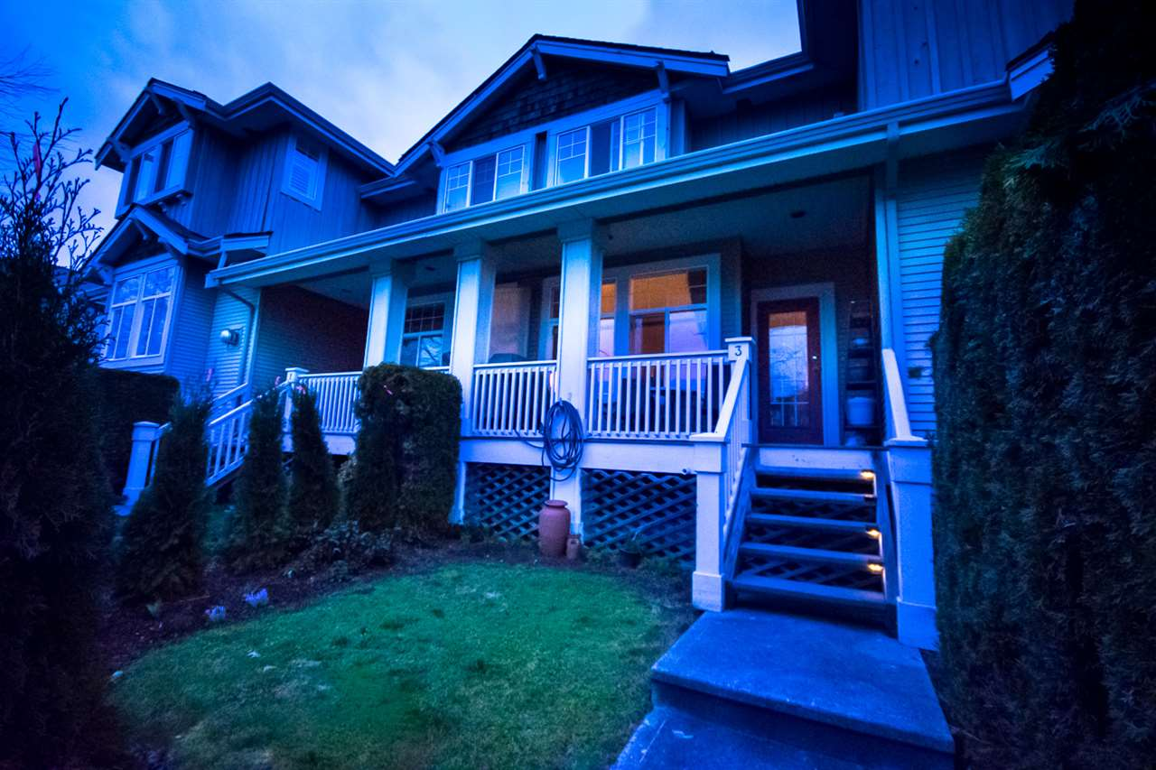 Photo 1: Photos: 3 14877 58 Avenue in Surrey: Sullivan Station Townhouse for sale : MLS® # R2242020