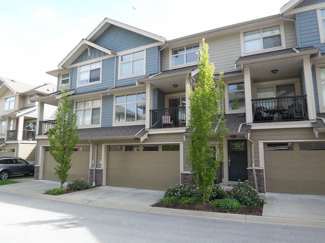 "Main Photo: 50 22225 50TH Avenue in Langley: Murrayville Townhouse for sale in ""Murray's Landing"" : MLS®# F1409670"