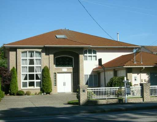 Main Photo: 6451 WILLIAMS Road in Richmond: Woodwards House for sale : MLS® # V611221