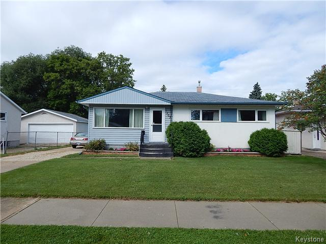 Main Photo: 1205 Hoka Street in Winnipeg: West Transcona Residential for sale (3L)  : MLS® # 1621063