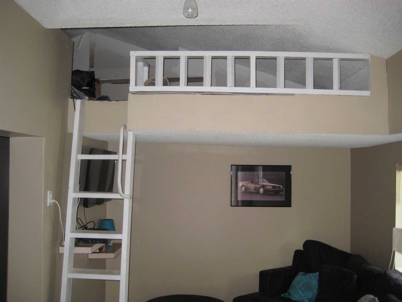 Has a den/play area on second level.  Will be completed prior to possession.