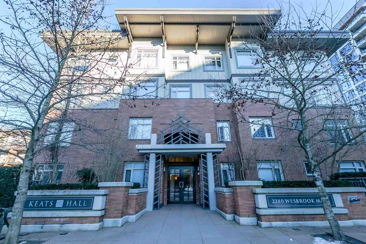 "Main Photo: 418 2280 WESBROOK Mall in Vancouver: University VW Condo for sale in ""Keats Hall"" (Vancouver West)  : MLS®# R2131319"