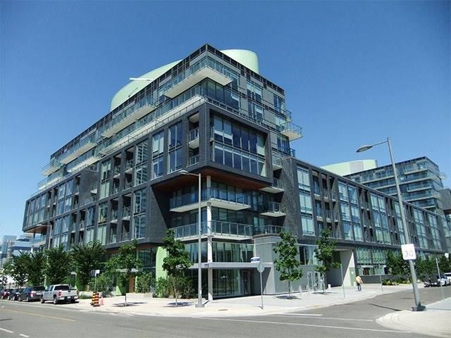 Main Photo: S606 455 E Front Street in Toronto: Waterfront Communities C8 Condo for lease (Toronto C08)  : MLS® # C3750477