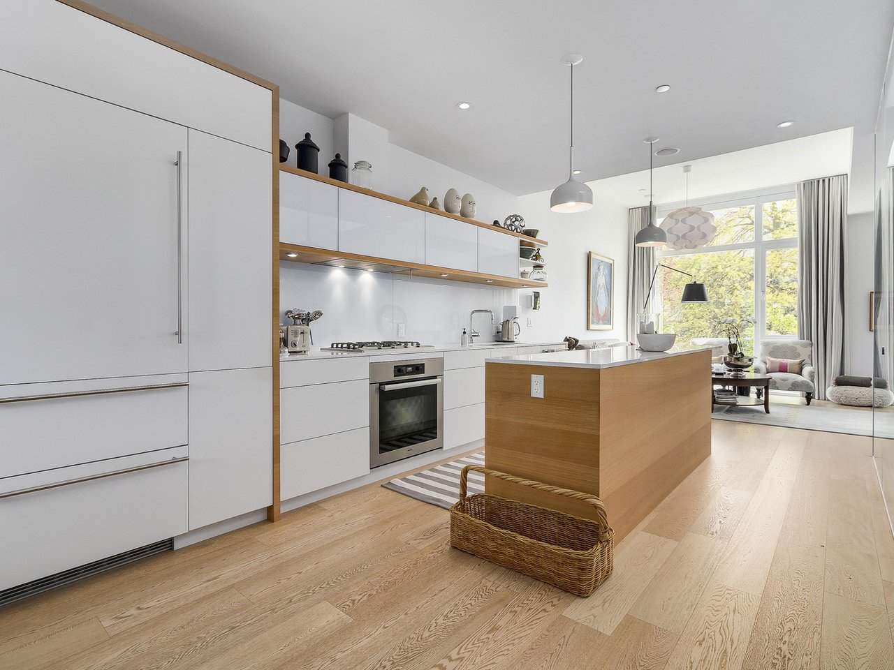 "Main Photo: 1887 W 2ND Avenue in Vancouver: Kitsilano Townhouse for sale in ""Blanc"" (Vancouver West)  : MLS(r) # R2164681"