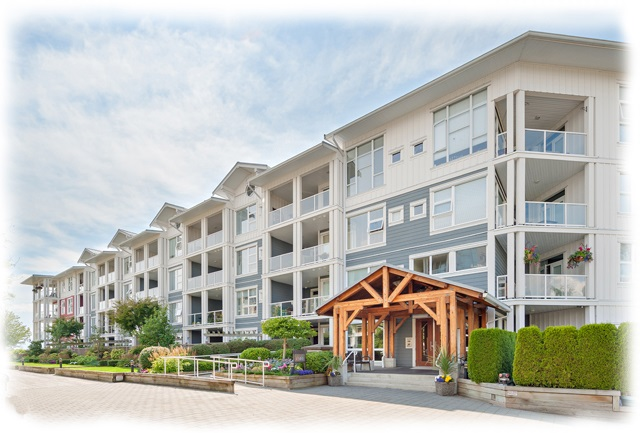 "Main Photo: 405 4500 WESTWATER Drive in Richmond: Steveston South Condo for sale in ""Copper Sky West"" : MLS® # R2189095"