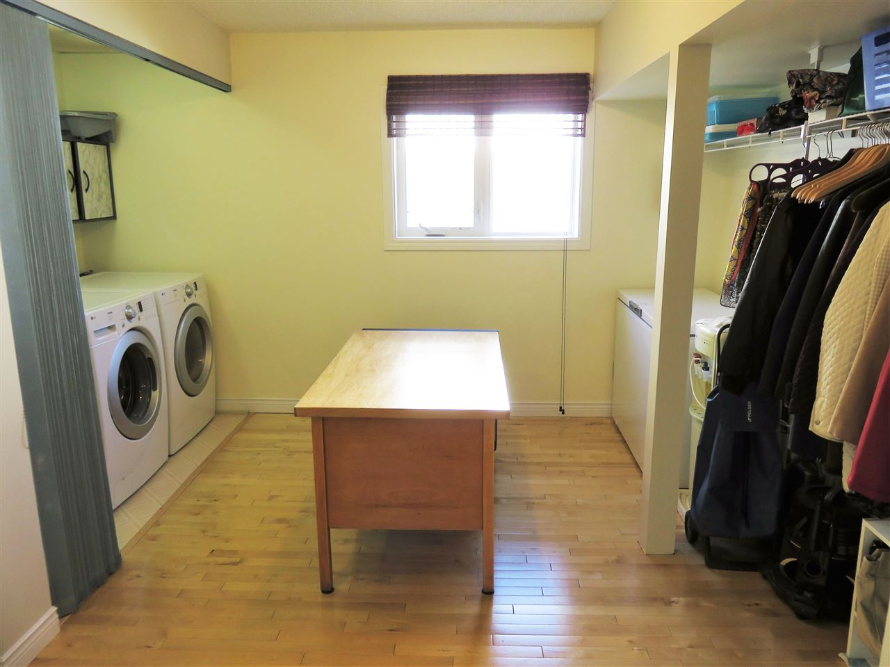 View of the Oversized Laundry Room located on the 3rd lower level!