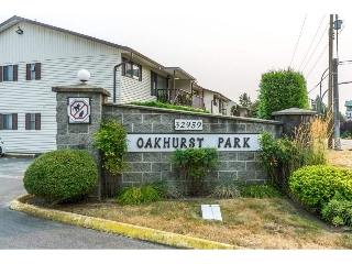 "Main Photo: 73 32959 GEORGE FERGUSON Way in Abbotsford: Central Abbotsford Townhouse for sale in ""Oakhurst"" : MLS® # R2195105"