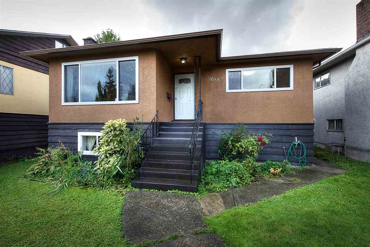 "Main Photo: 2688 HORLEY Street in Vancouver: Collingwood VE House for sale in ""NORQUAY"" (Vancouver East)  : MLS®# R2212925"