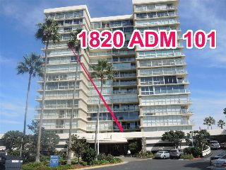 Main Photo: CORONADO SHORES Condo for sale : 1 bedrooms : 1820 Avenida del Mundo #101 in coronado