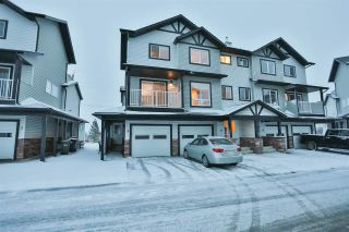 Main Photo: 11 11 CLOVER BAR Lane: Sherwood Park Townhouse for sale : MLS® # E4087400