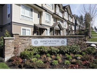 Main Photo: 20 21867 50 Avenue in Langley: Murrayville Townhouse for sale : MLS® # R2231837