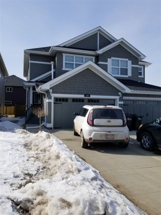 Main Photo: 199 Aberdeen Crescent: Sherwood Park House Half Duplex for sale : MLS®# E4104293