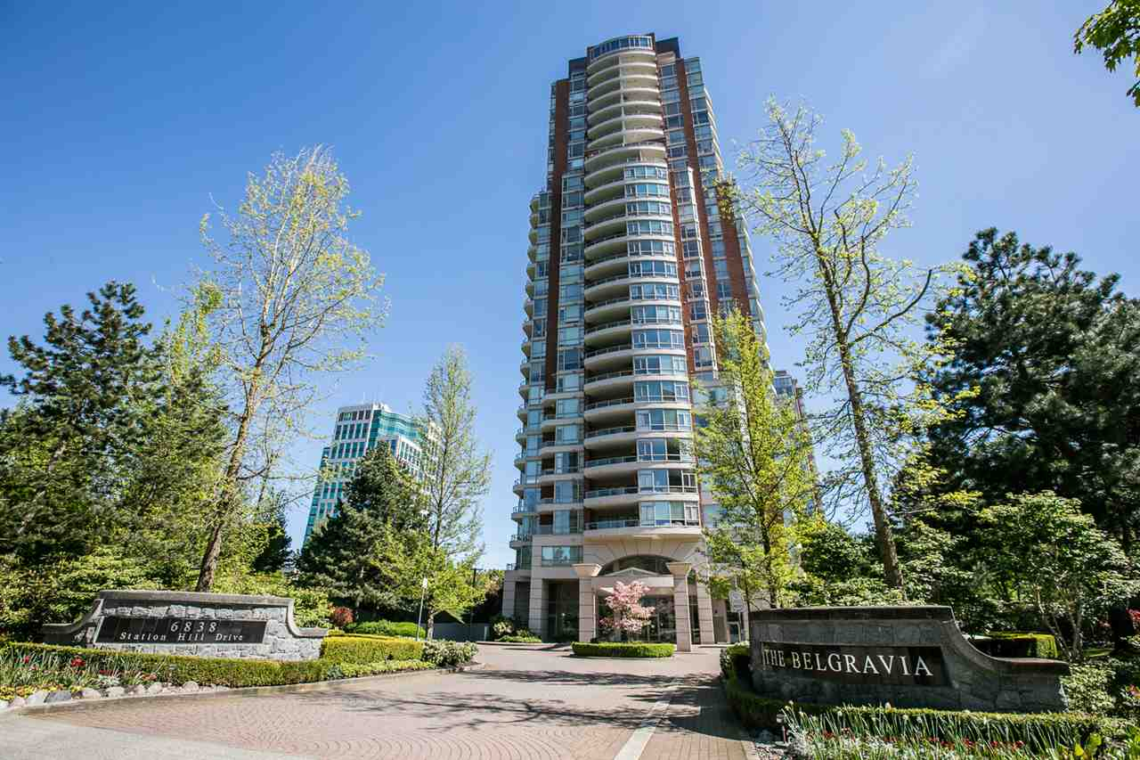 "Main Photo: 1407 6838 STATION HILL Drive in Burnaby: South Slope Condo for sale in ""BELGRAVIA"" (Burnaby South)  : MLS®# R2264994"