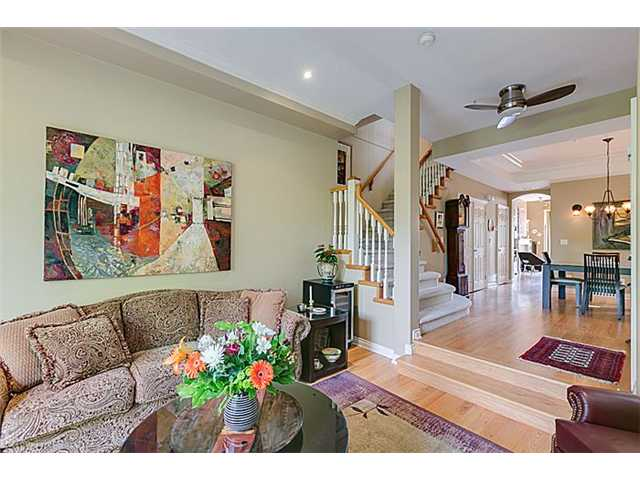 Photo 4: 2656 W 2ND Avenue in Vancouver: Kitsilano House 1/2 Duplex for sale (Vancouver West)  : MLS(r) # V1059274