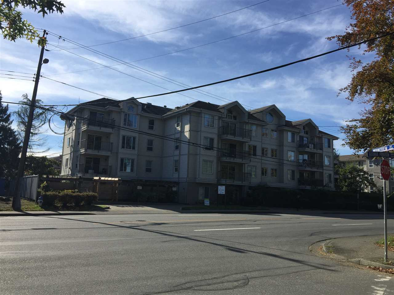 "Main Photo: 205 33502 GEORGE FERGUSON Way in Abbotsford: Central Abbotsford Condo for sale in ""CARINA COURT"" : MLS® # R2118513"