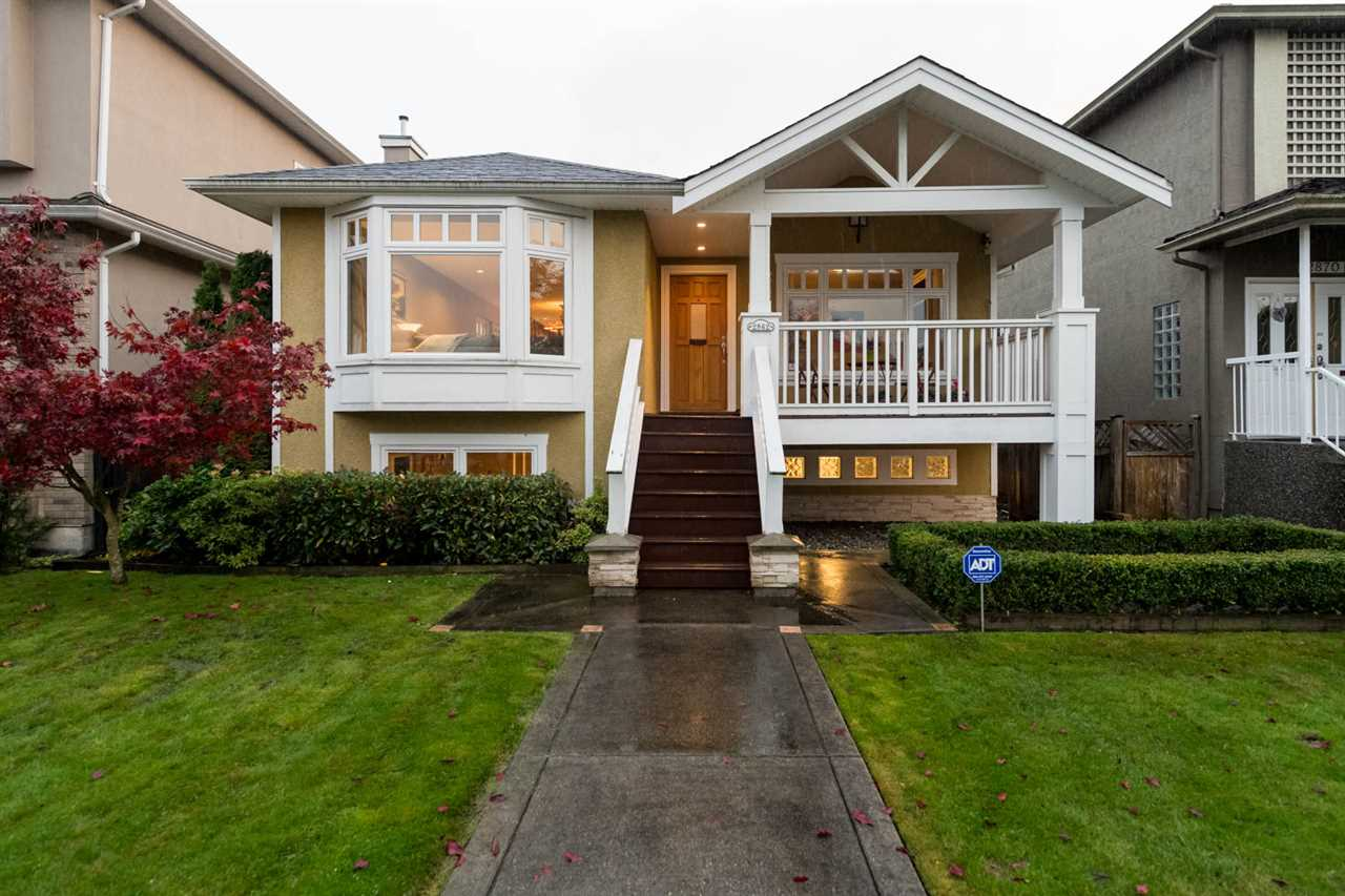 Main Photo: 2862 W 22ND Avenue in Vancouver: Arbutus House for sale (Vancouver West)  : MLS® # R2119263