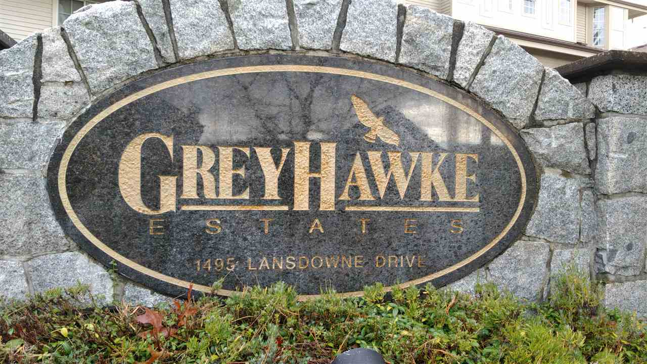 "Photo 2: 149 1495 LANSDOWNE Drive in Coquitlam: Westwood Plateau Townhouse for sale in ""GREYHAWKE ESTATES"" : MLS(r) # R2120772"