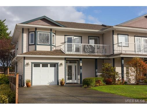 Main Photo: A 2055 Courser Drive in SIDNEY: Si Sidney North-East Strata Duplex Unit for sale (Sidney)  : MLS(r) # 372053