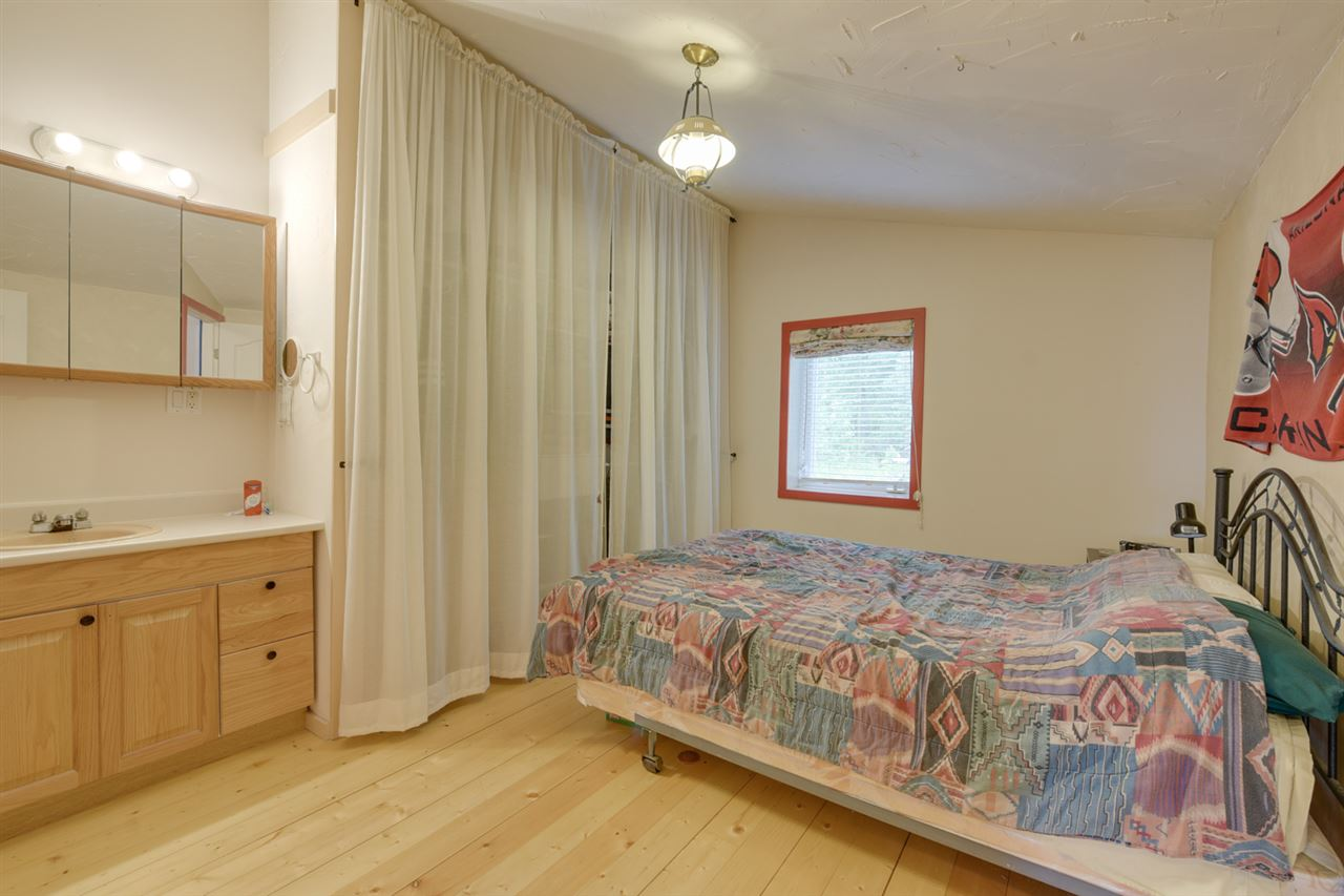 The bedroom is super spacious and each has its own bathroom.