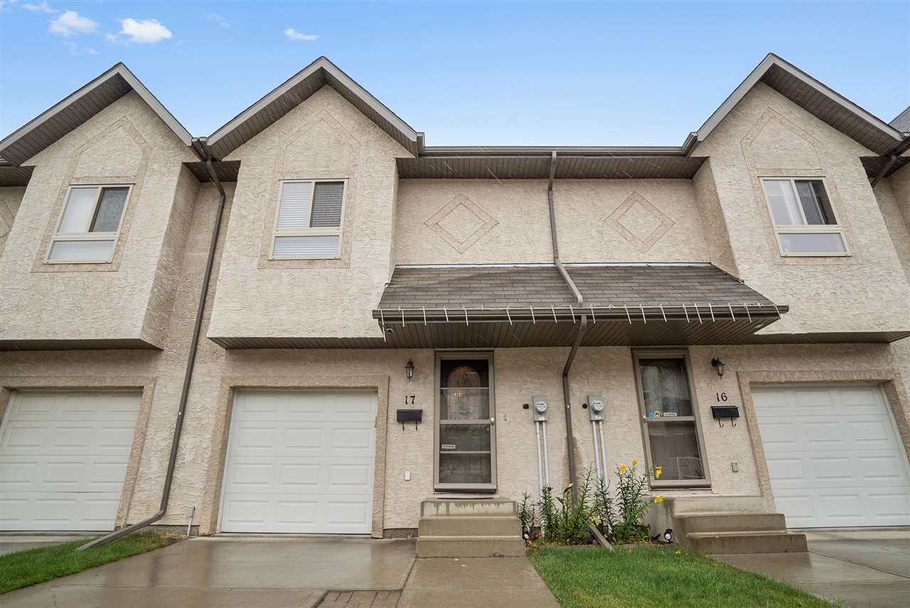 Main Photo: 17 16317 64 Street in Edmonton: Zone 03 Townhouse for sale : MLS® # E4075071